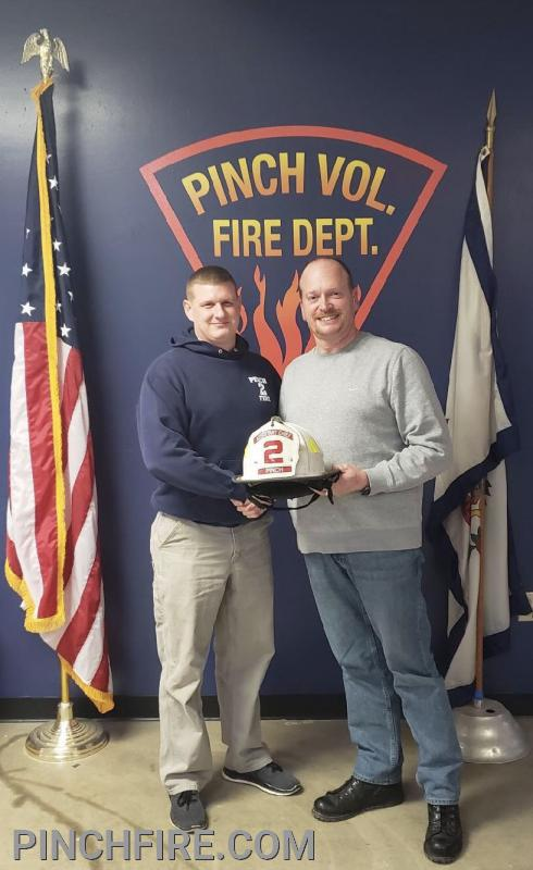 1st Assistant Chief Teel and Chief Thaxton