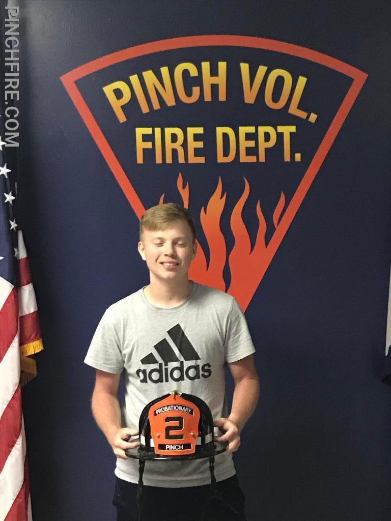 Probationary Firefighter Michael Hammack