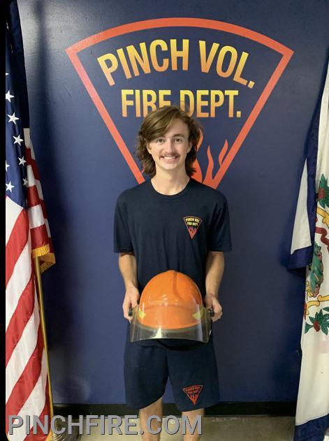 Junior Firefighter Tytan Crowder