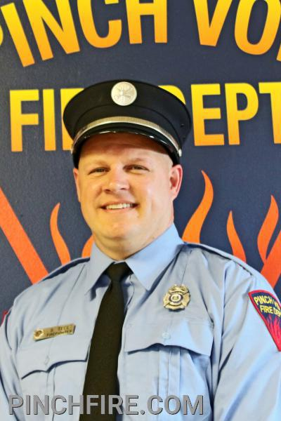 Firefighter Steve Teel