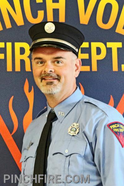 Firefighter/EMT and President Chris Avis
