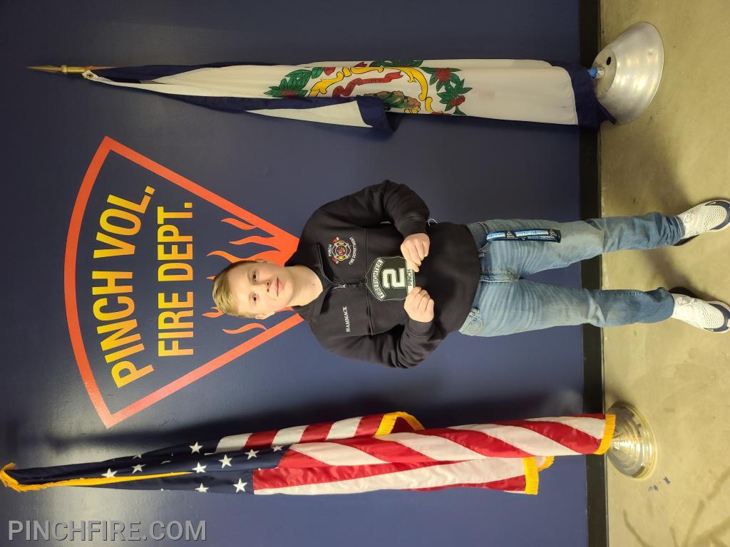Firefighter Michael Hammack